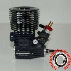 SIRIO XL5 R 2019 Combo - moteur 1/8 buggy 5 transferts compétition + échappement