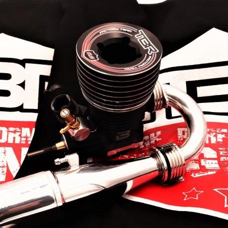 TBR 6.0 Black Edition - Moteur 1/8 buggy 5 transferts compétition
