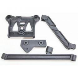 C10022 - Renfort de châssis et platine de sauve servo  [1set]