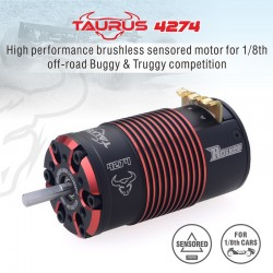 ROCKET 4274/1700V2 - Moteur brushless 4274 1700KV