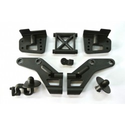 C10007 - Support d'aileron + supports de carrosserie [1set]