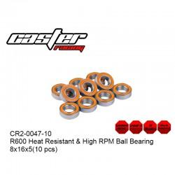 CR2-0047-10 - Roulement de transmission haute vitesse 8x16x5mm [10pcs]