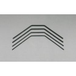 200012-F-SET - Barre anti-roulis AV 2.0, 2.2, 2.6, 2.8mm [1set]