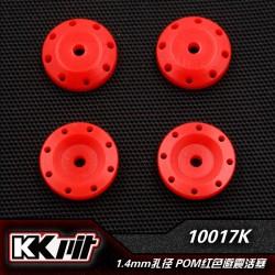 K1-10017K - Piston d'amortisseur POM 8x1,3 + 8x1,4mm [1set]