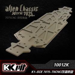 K1-10012K - Châssis Alien alu 7075-T6 3,5mm [1pc]