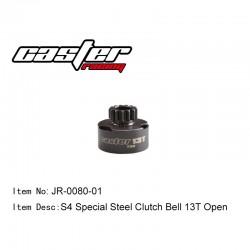 JR-0080-01 - Cloche d'embrayage ouverte 13 dents [1pc]