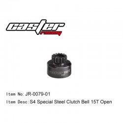JR-0079-01 - Cloche d'embrayage ouverte 15 dents [1pc]