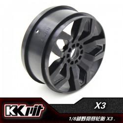 KKPIT X3 - Jante 1/8 buggy/GT [4pcs]