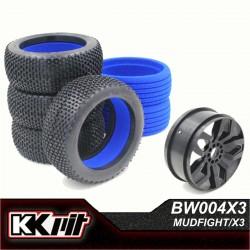 KKPIT MUDFIGHT - Pneus 1/8 buggy [1set]