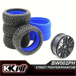 KKPIT STREET FIGHTER - Pneus + insert + jante 1/8 GT [1set]