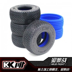 KKPIT MUDFIGHT - Pneus 1/10 SC + insert