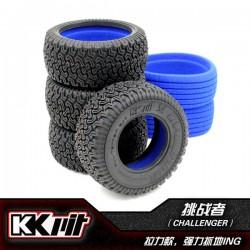 KKPIT CHALLENGER - Pneus 1/10 SC + insert